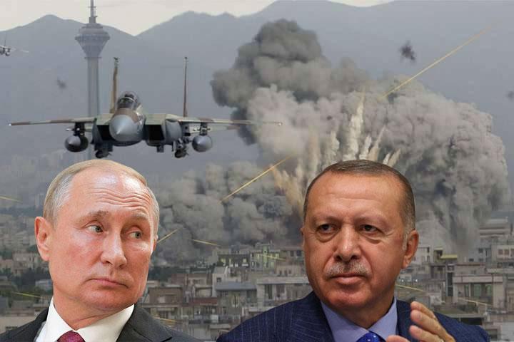 Ռուսական արջի թաթի ծանր հարվածը թուրքական շնագայլին